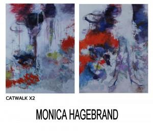 Konstutställning Monica Hagebrand